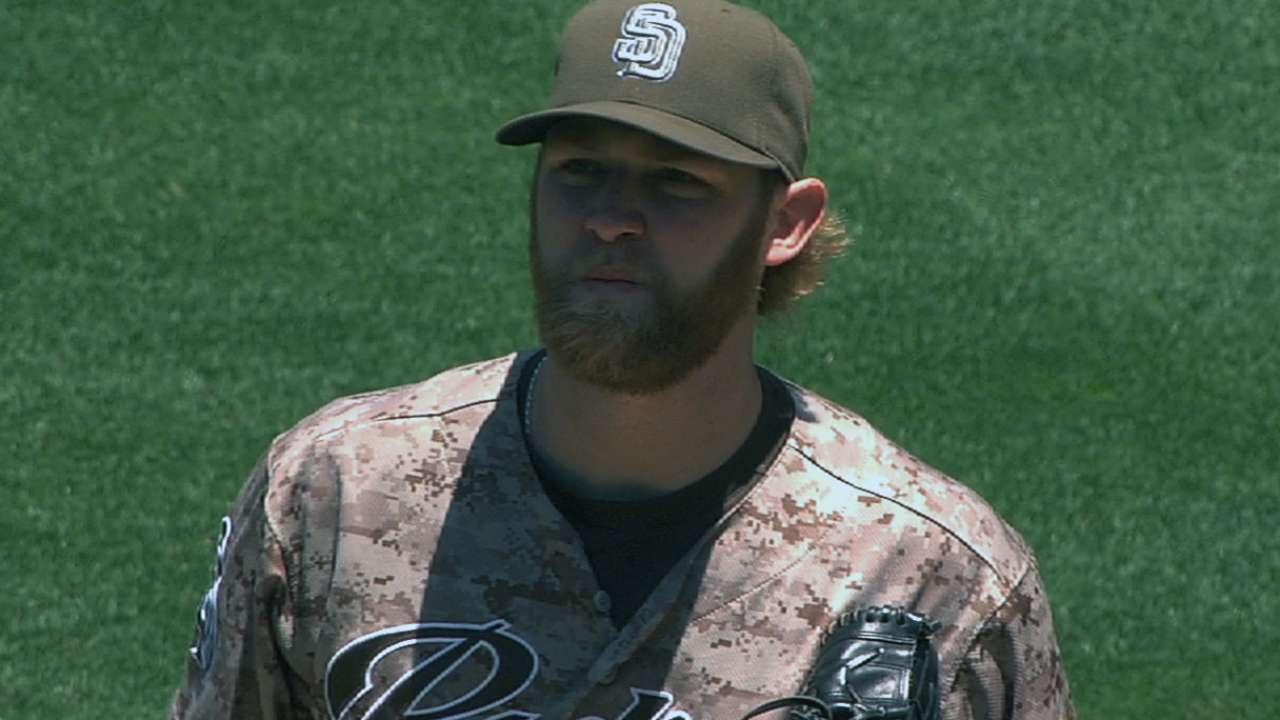 Cashner turning corner in Padres' rotation