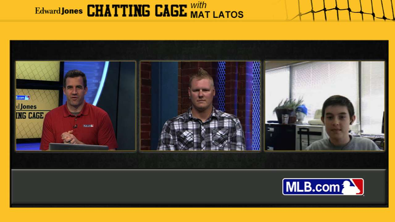 Latos talks all things Reds in Chatting Cage