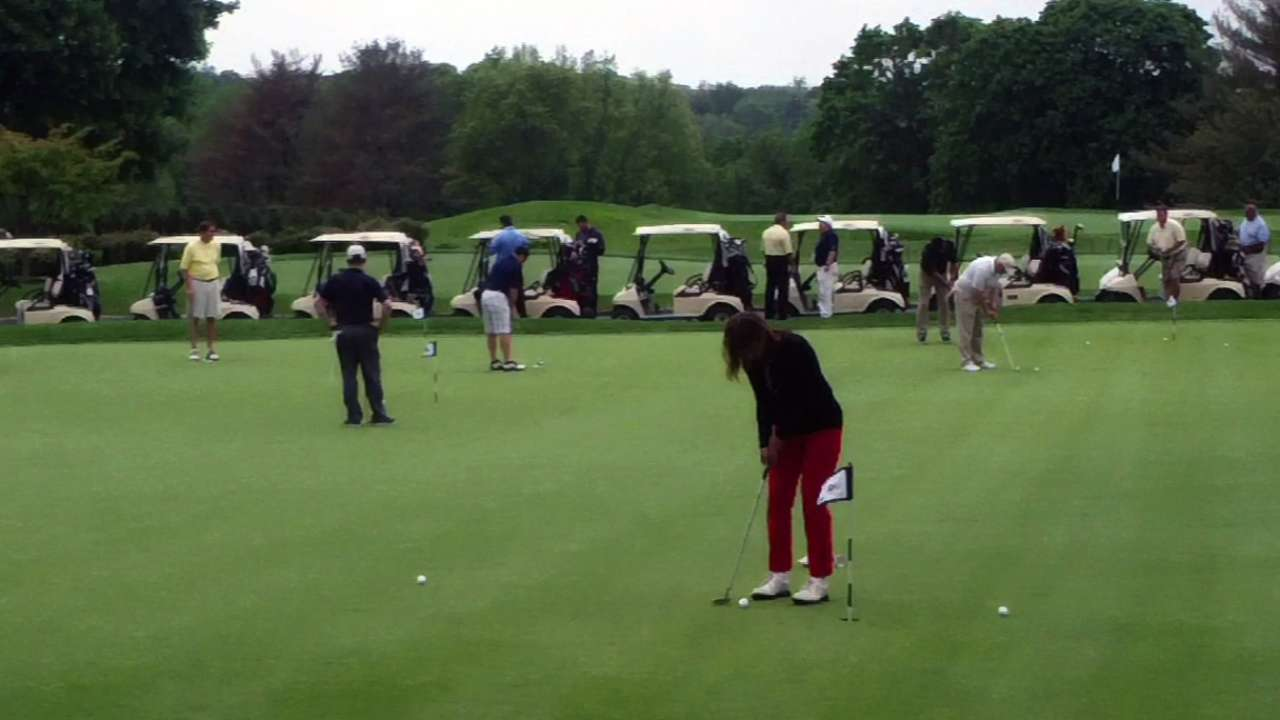Yanks help local charities with golf tournament