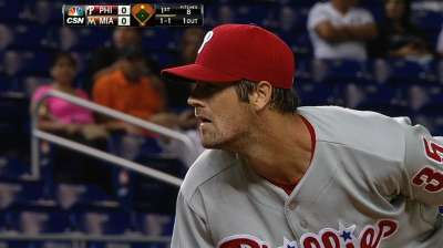 Day after frustrating loss, Hamels remains quiet