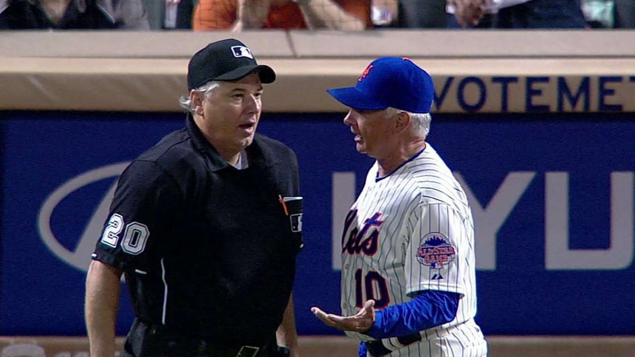 Hawkins, Collins ejected for arguing hit-by-pitch call