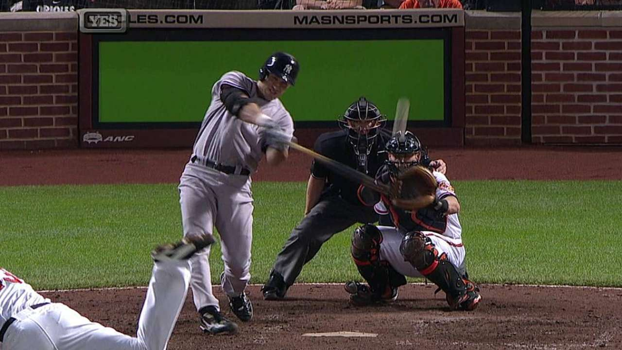 Yankees reaccionan al final para hundir a Orioles