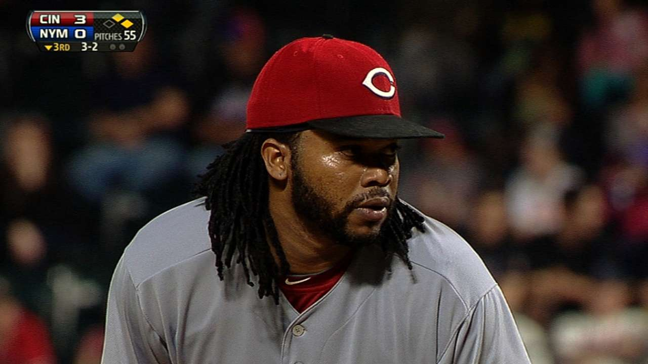 With Cueto back, steadily rolling Reds are even better