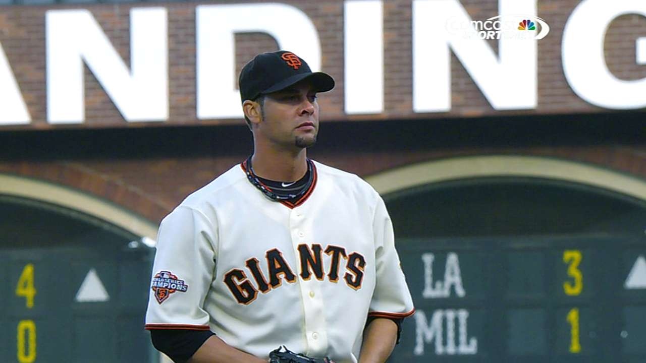 Eager Vogelsong tasked with taking rehab slow