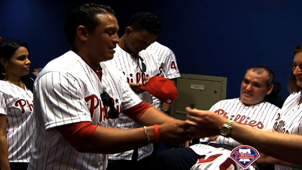 Phillies to take part in ALS fundraiser Monday