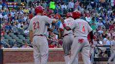 Leake, Reds cruise past Mets after three-run first