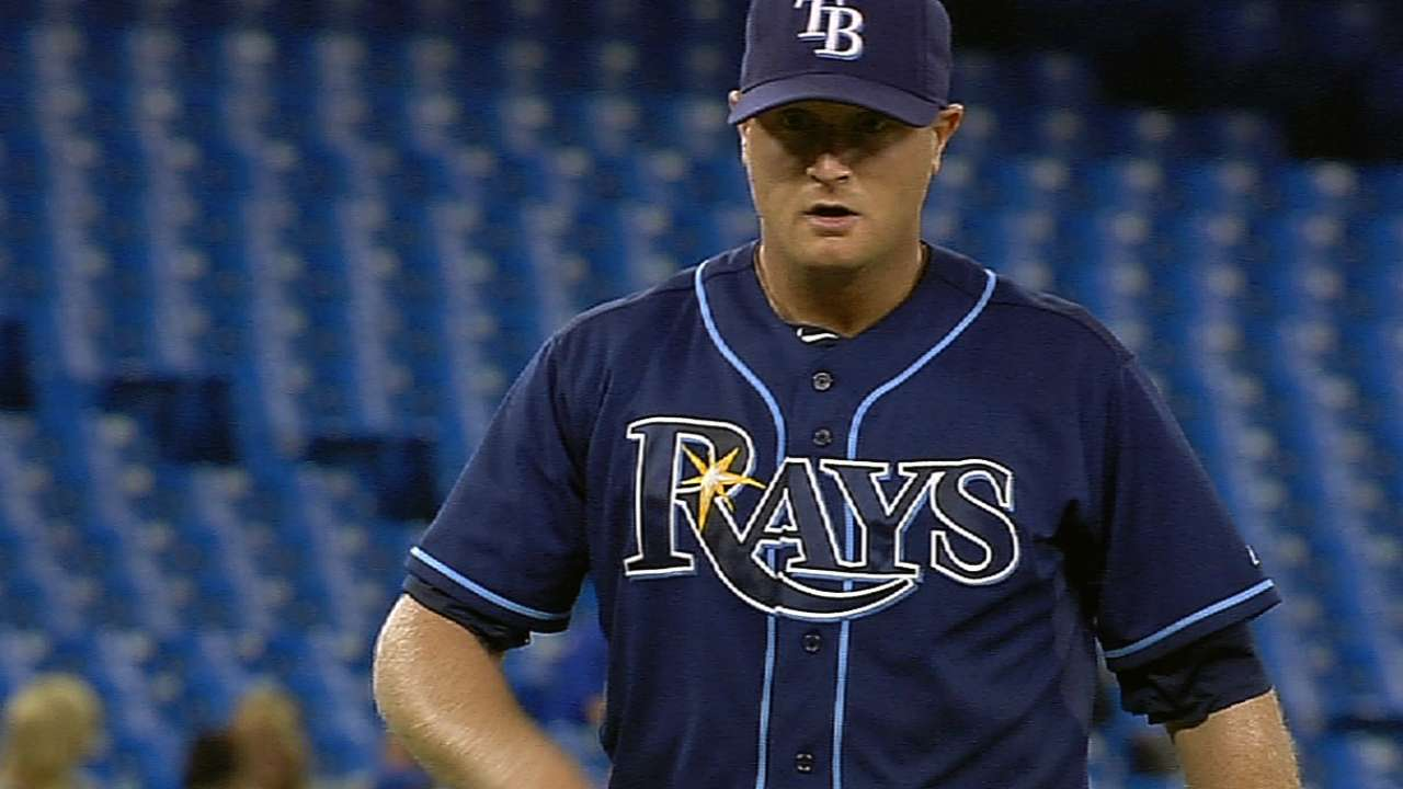 Rays swap Cobb, Odorizzi in rotation