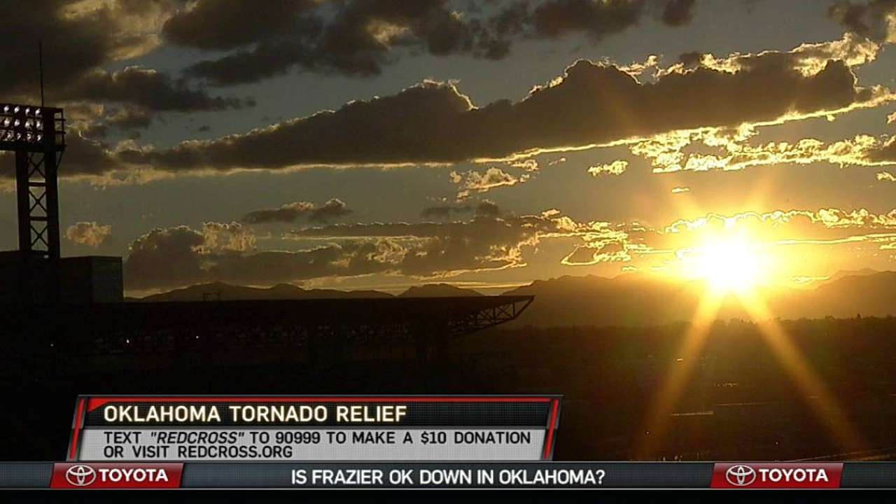Cubs, affiliates to raise money for tornado victims