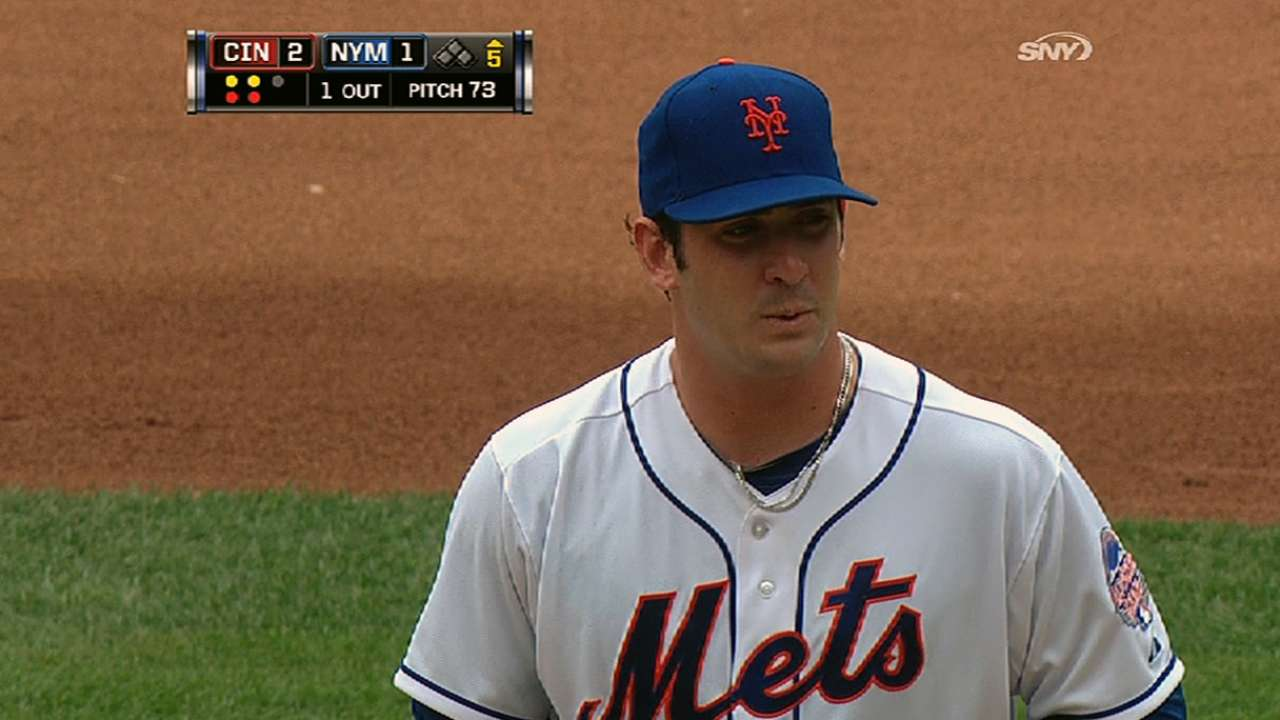 Harvey gearing up for first Subway Series start
