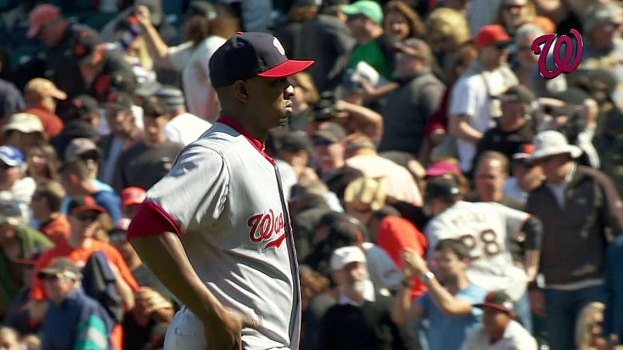 Nats return home from West Coast at perfect time
