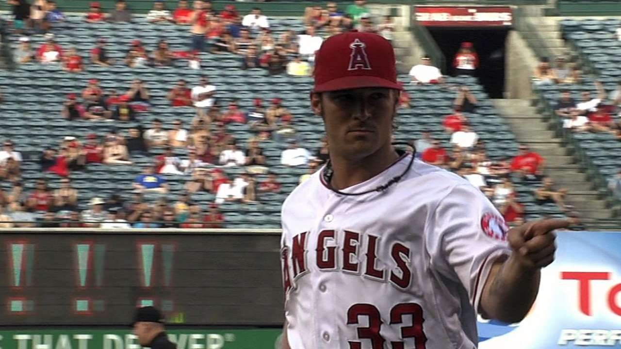 Wilson sharp as Angels' offensive surge continues