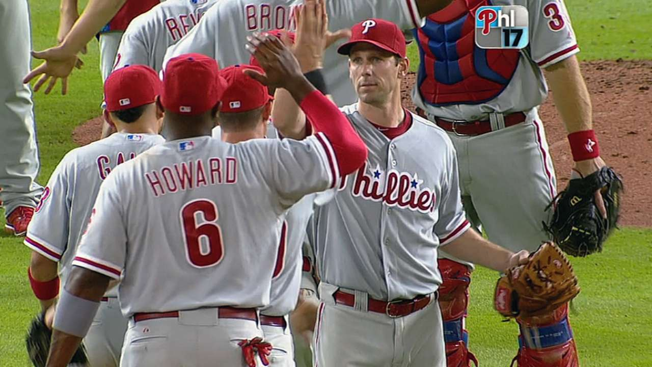 Phillies still sporting contender's mentality