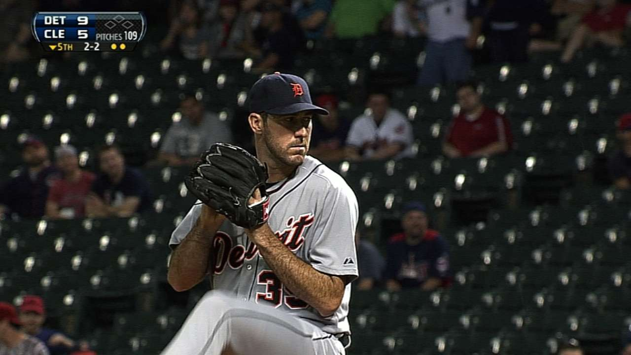 Verlander shows improved fastball command