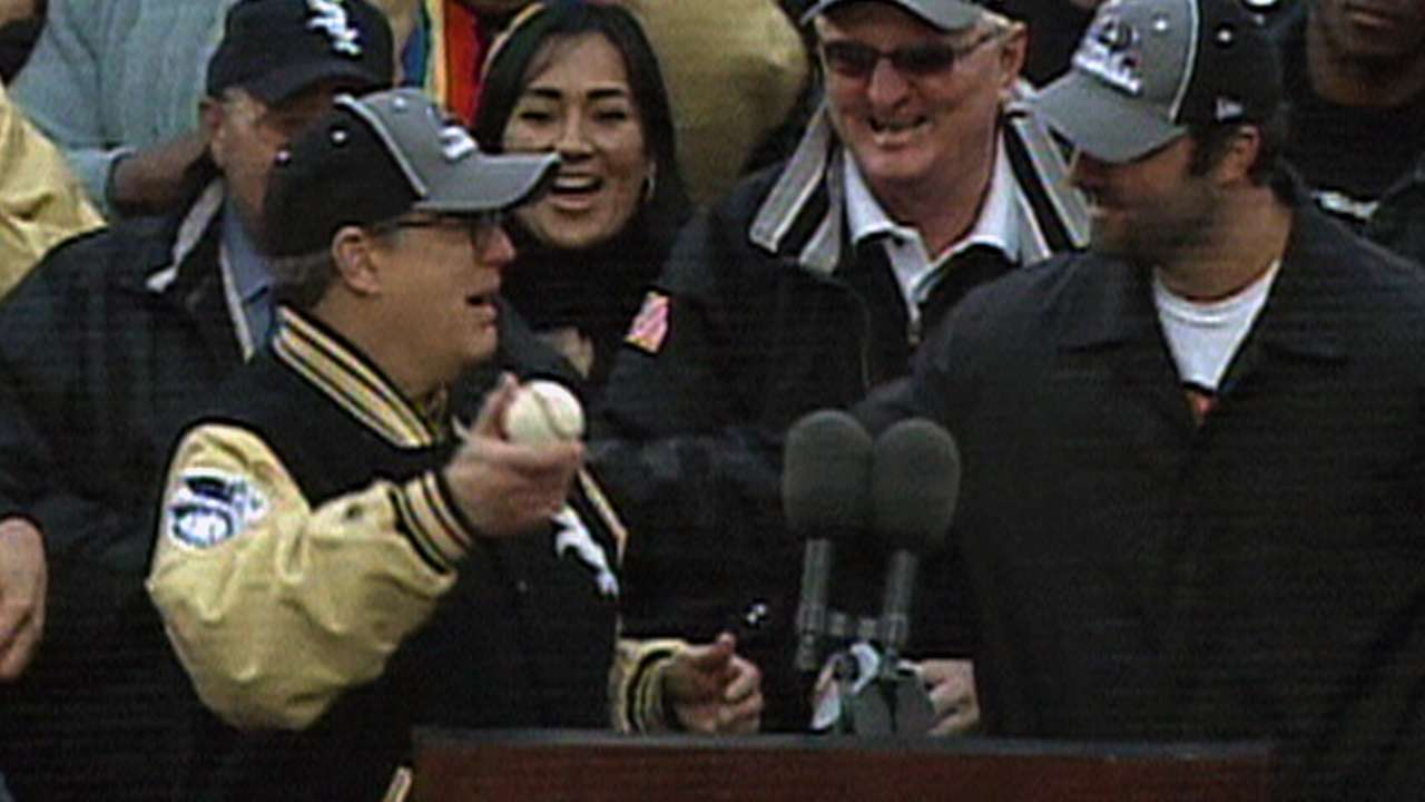 World Series ball still resonates for Reinsdorf