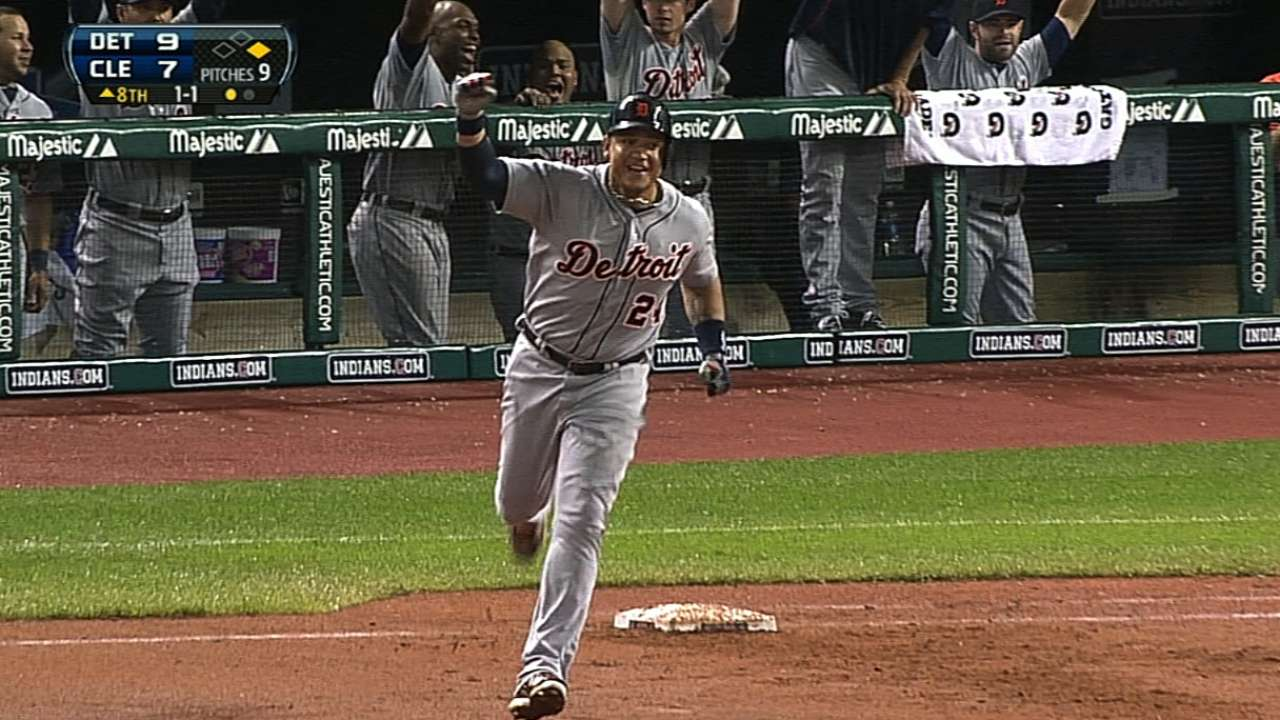 Miggy goes deep in fourth consecutive game