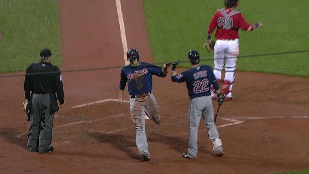 Masterson stumbles, Indians' offense held in check