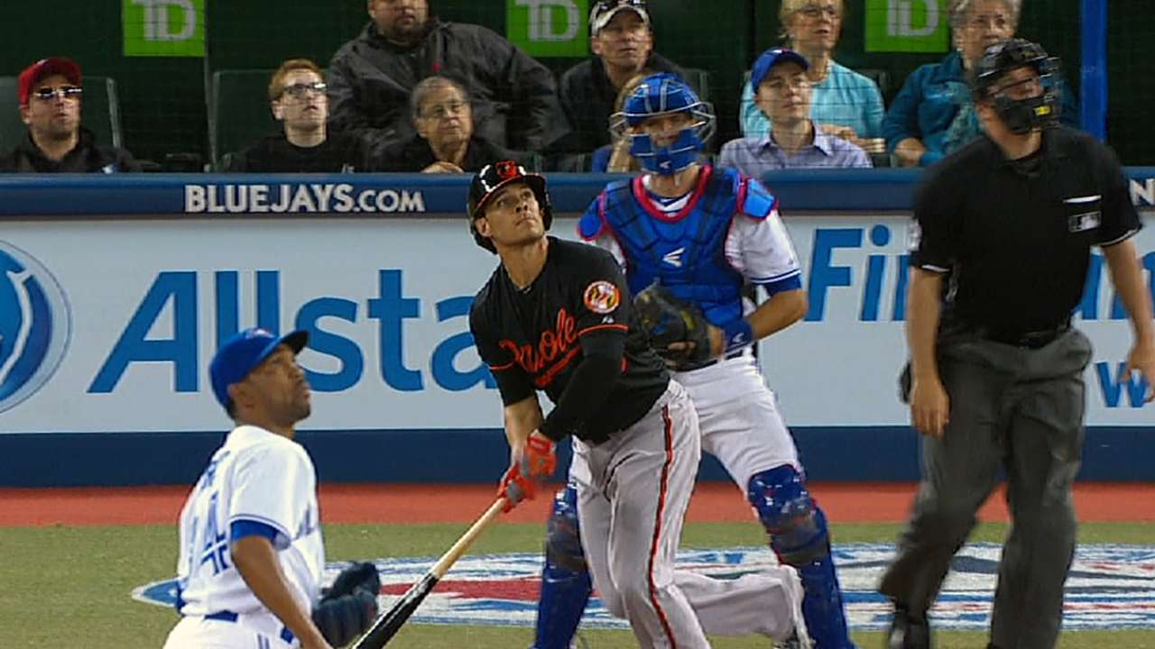 Orioles unleash power with four homers in slugfest