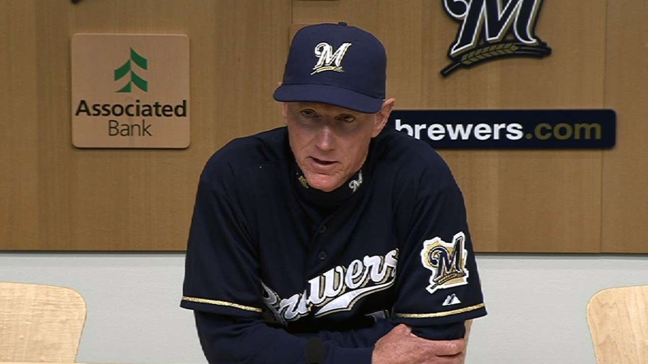 Roenicke mulling options for Tuesday's starter