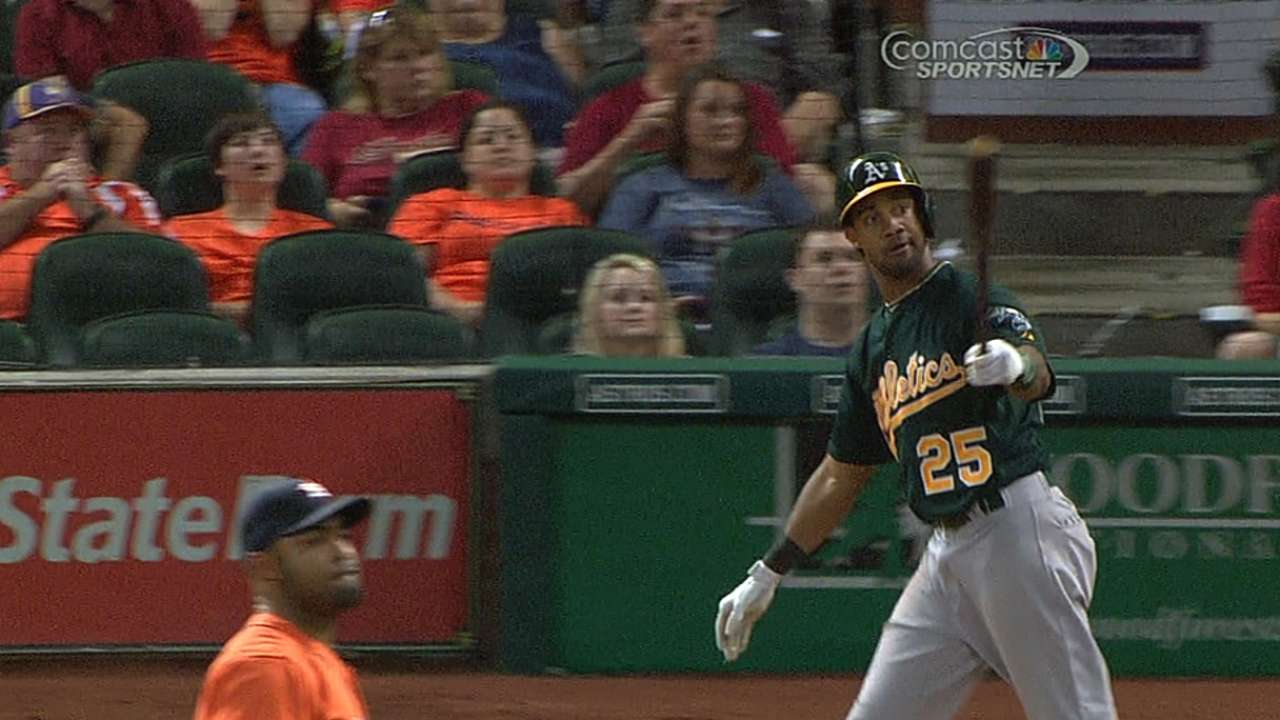 Young celebrates homecoming with clutch homer