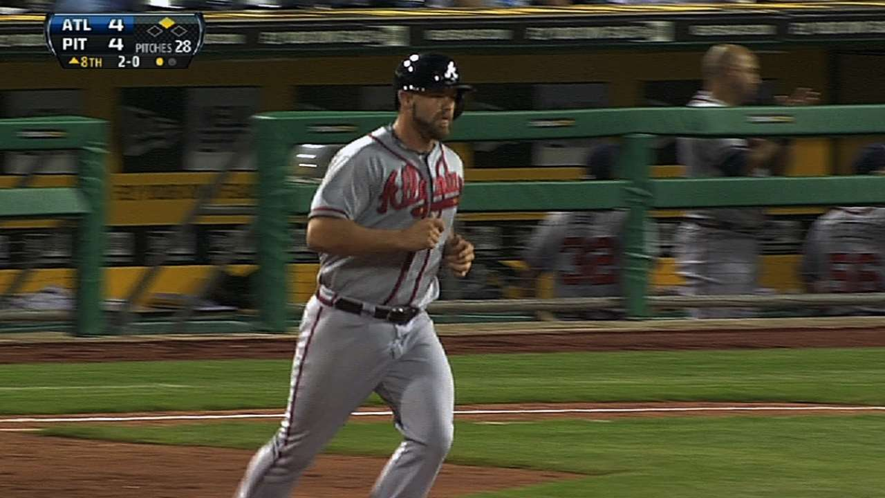 For second straight month, Gattis top NL rookie