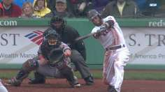 Pedroia lifts Red Sox late for win vs. Indians