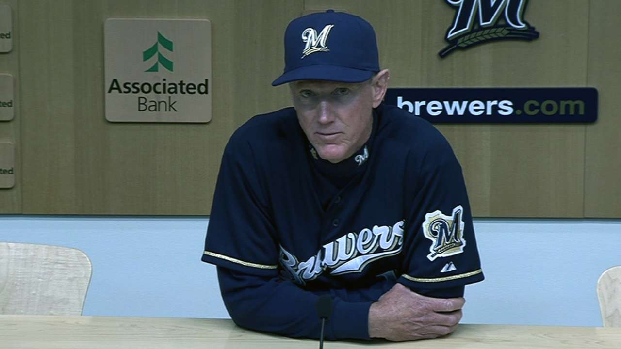 Brewers give Fiers fresh start after tough 2013