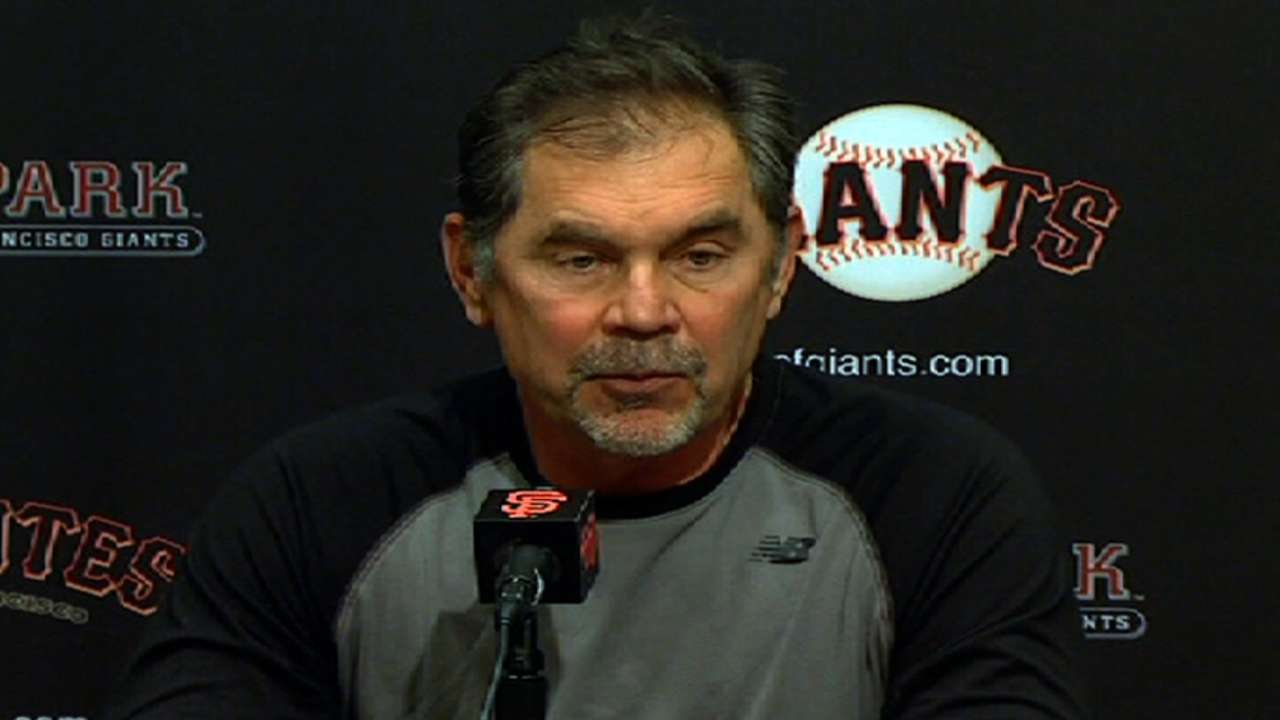 Bochy reserving judgment on new Interleague format