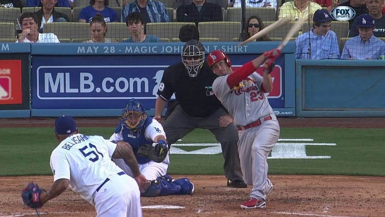 Cards fall to Dodgers after Gast leaves with injury