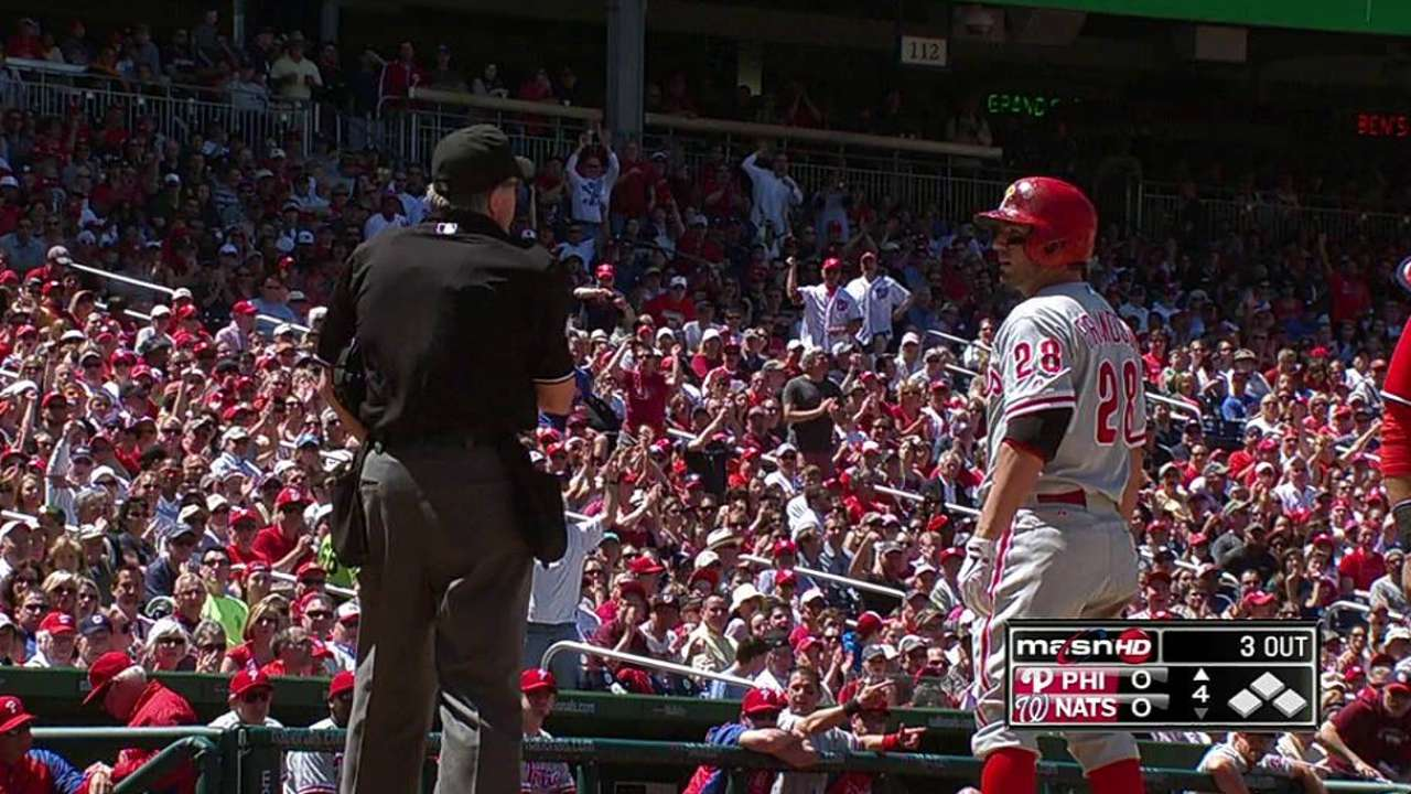 Frandsen's tough day ends with ejection