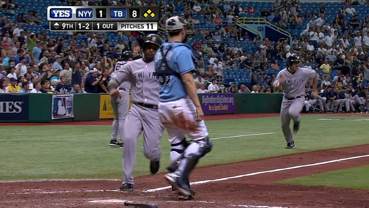 Rays prove too much for CC at the Trop