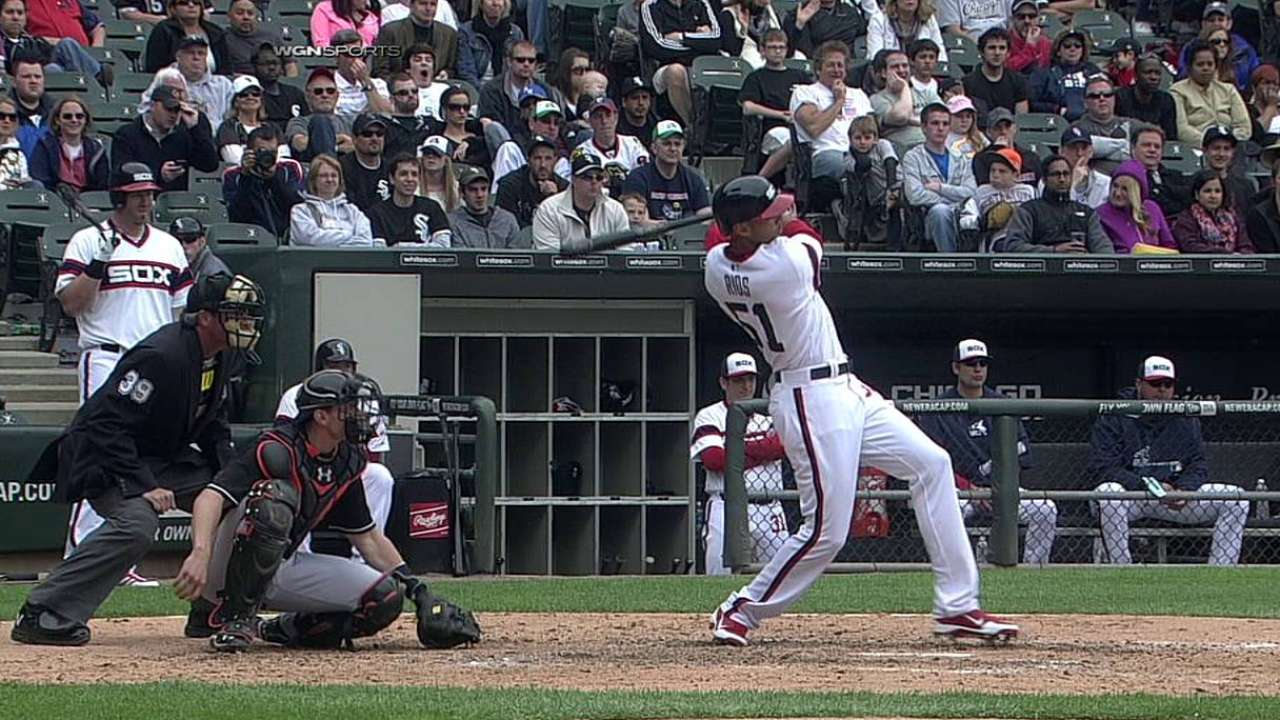Rios, White Sox need fans' All-Star support