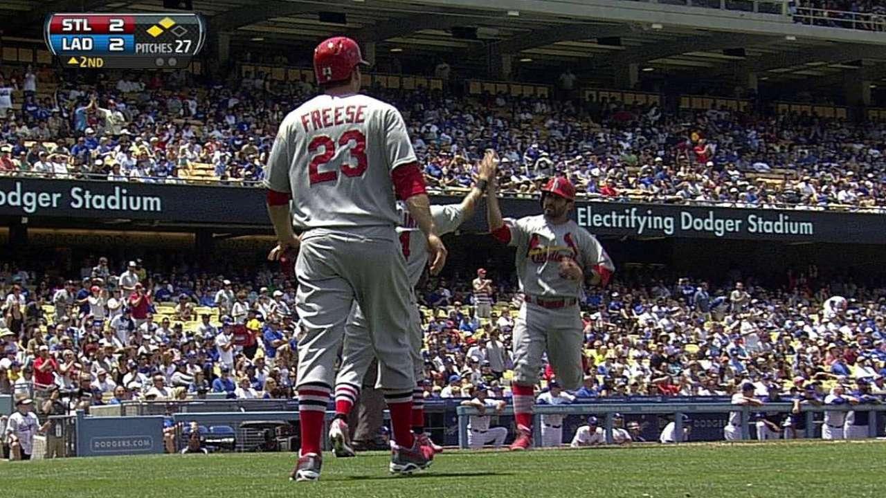 Cardenales le caen a Kershaw para hundir a Dodgers