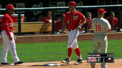 Harper rounding into form on rehab stint