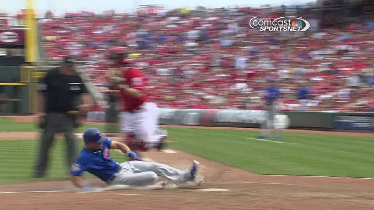 Series finale turns sour, but Cubs beat Reds in extras