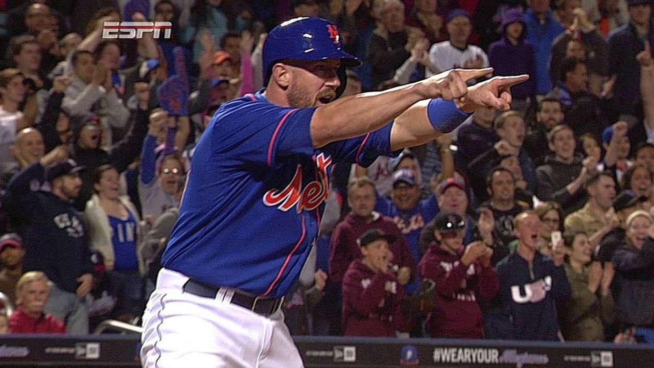 Hit oportuno de Davis hizo ganar a Mets vs. Bravos