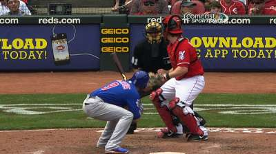 Reds and Cubs put Cueto-Garza incident in past