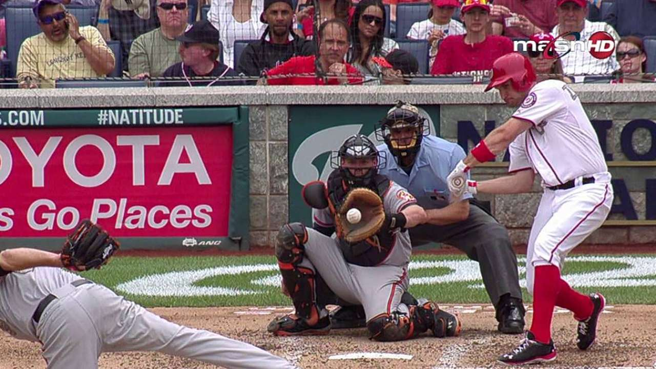 Gio labors as Nationals drop opener to Orioles