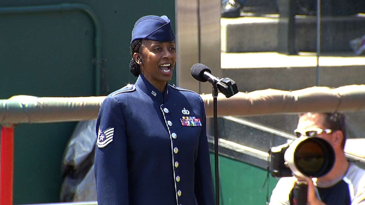 Reds honor veterans on Memorial Day