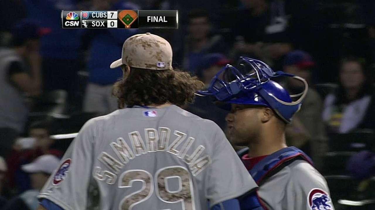 Cubs doblegan a White Sox con joya de Samardzija