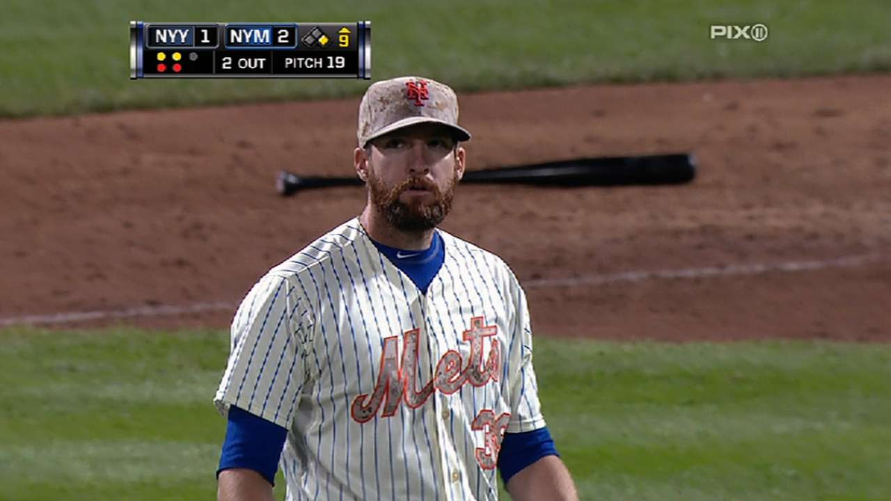 Parnell comes of age with save against Yankees