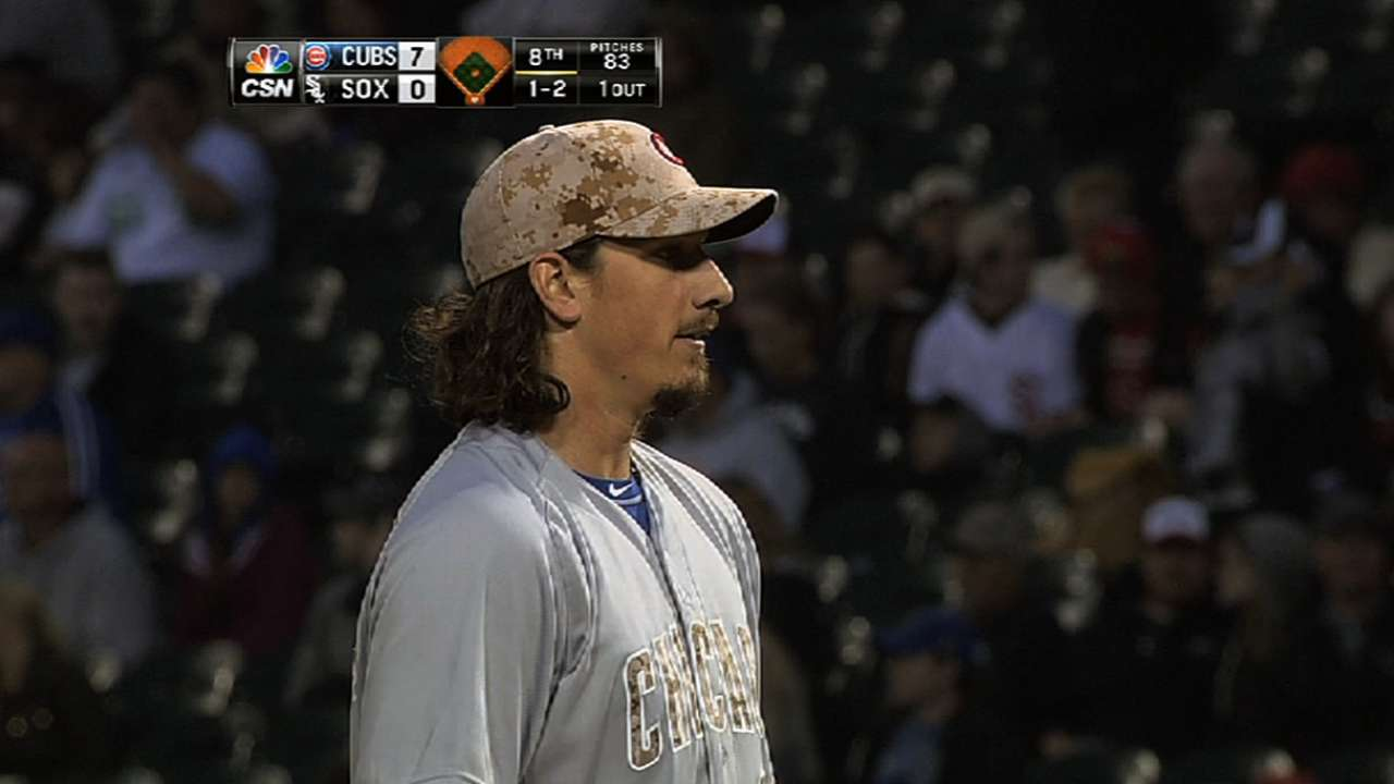 Samardzija fires two-hitter for first career shutout