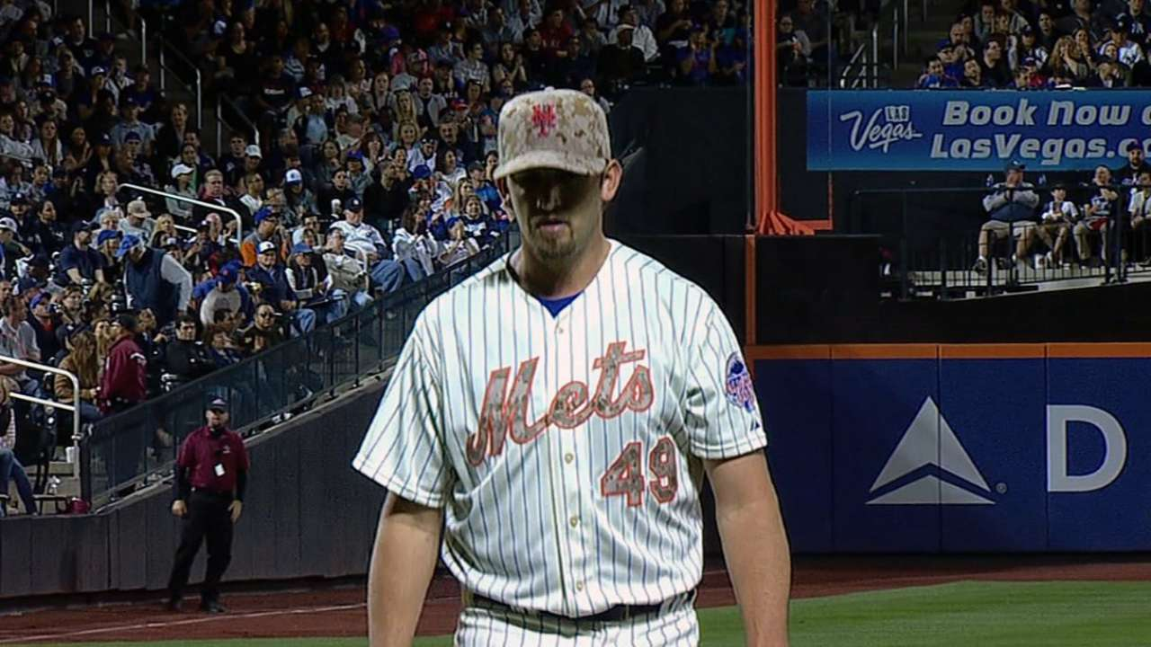 Collins expects Niese to make next start