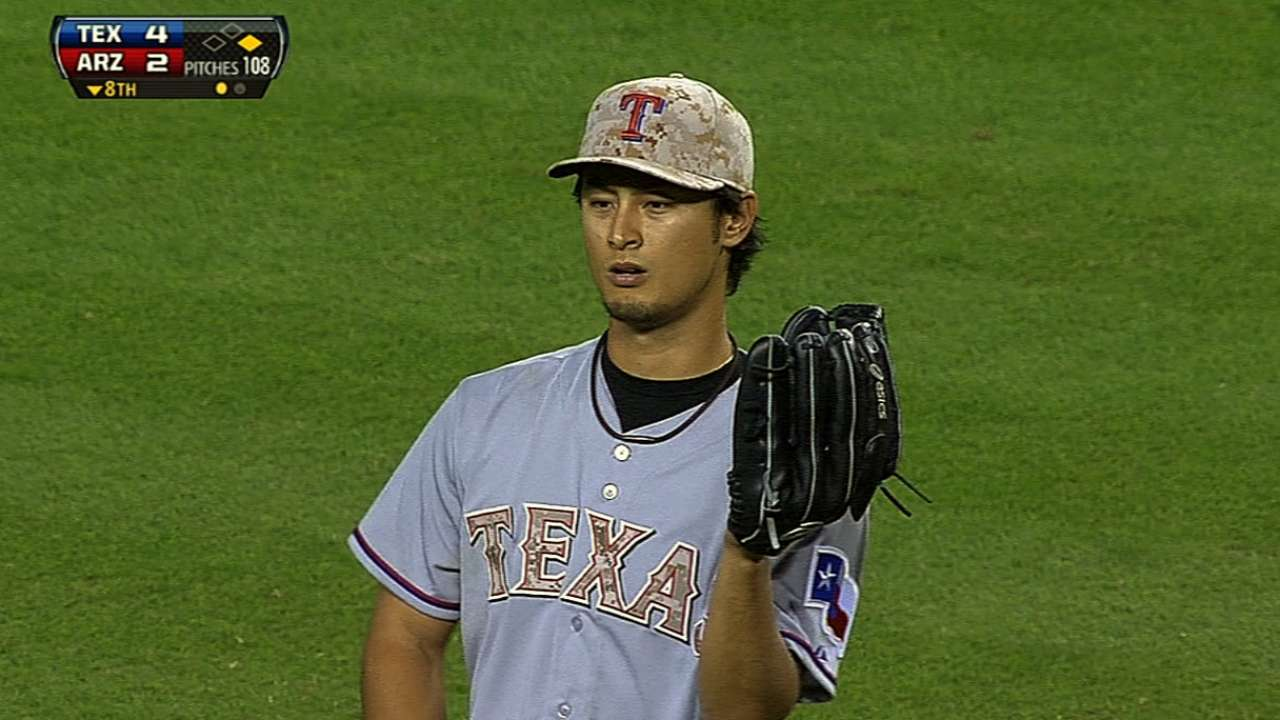 Darvish gets extra rest before making next start