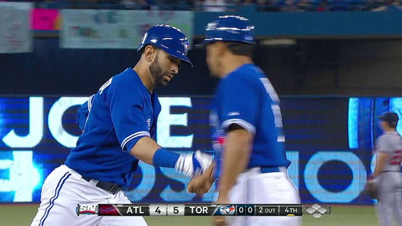 Bautista named Blue Jays' Player of the Month