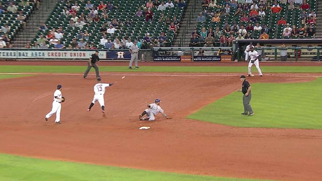 Astros cayeron por la mínima ante los Rockies