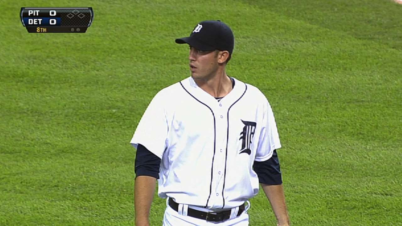 Tigers' bats can't back Porcello's 11-K gem
