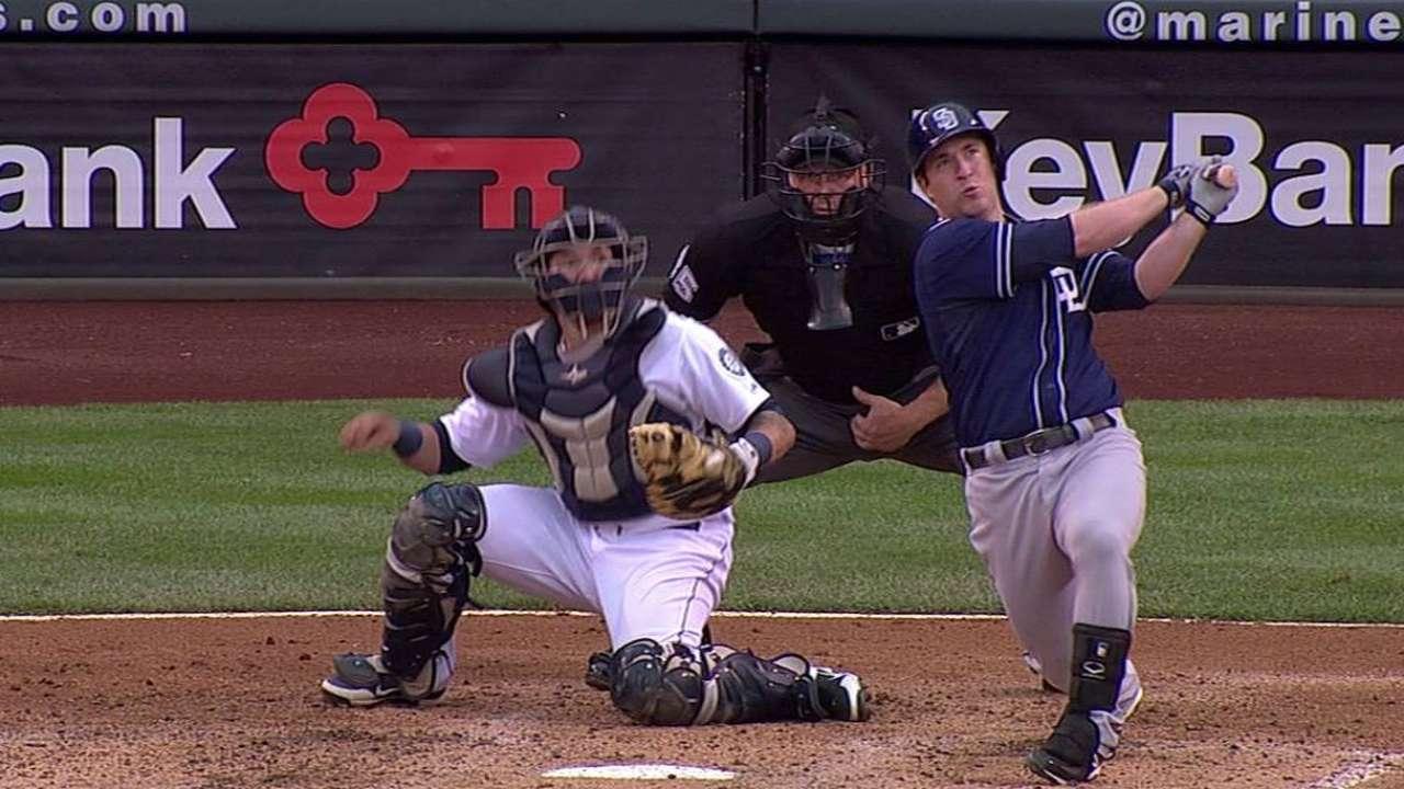 Gyorko finding his home run swing early in career