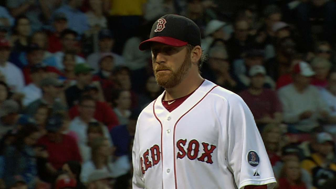 Dempster strong, but Lee better as Red Sox fall