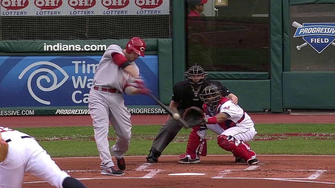 Arroyo starts solid, but Reds fall after big home run