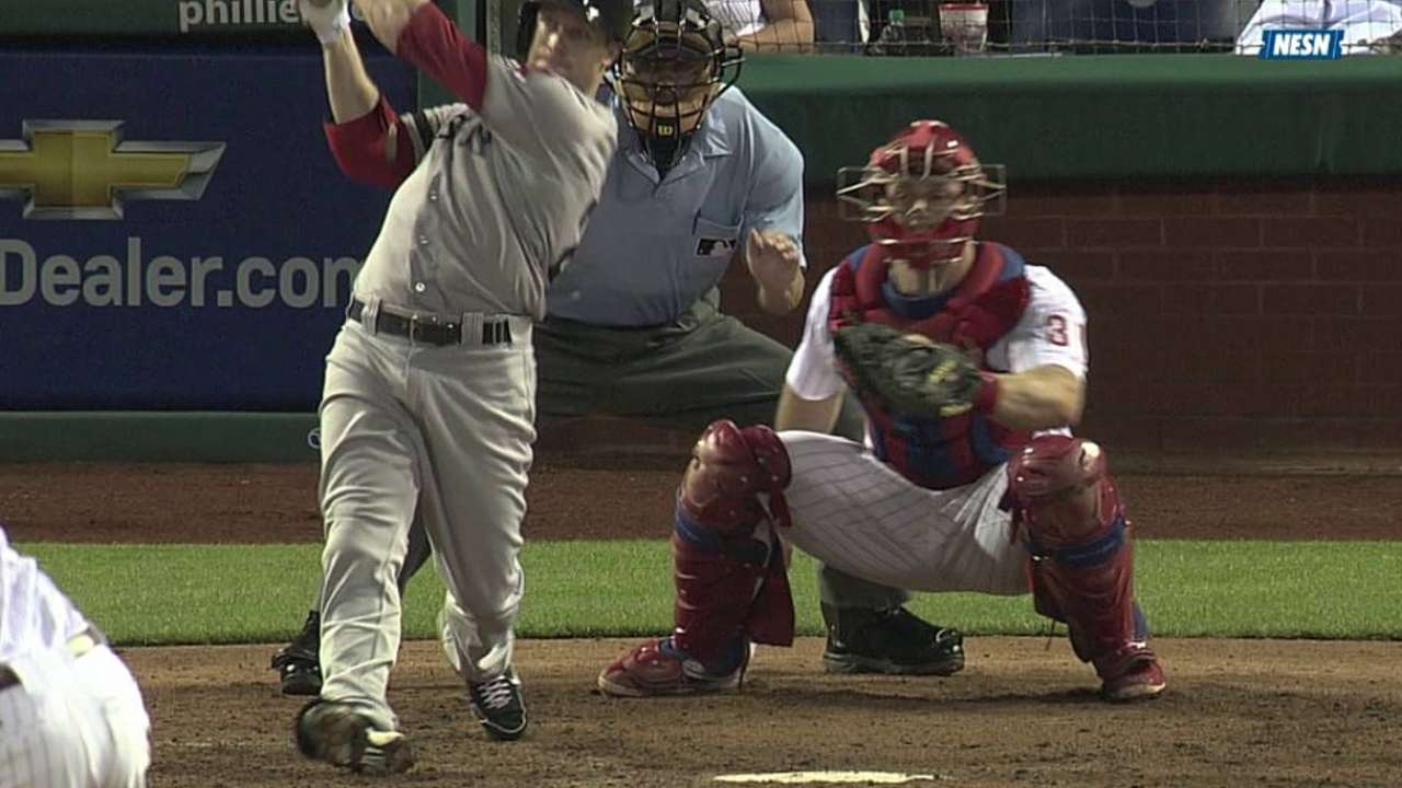 Lackey keeps Sox in it, but late rally falls just short